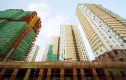 Подвал, конструкция высокого здания Стоковое Изображение RF