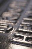 подвергните печатание механической обработке стоковое изображение