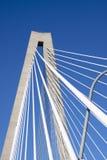 подвес детали моста стоковая фотография rf