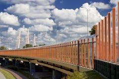 подвес моста самомоднейший Стоковое фото RF