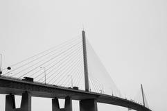 подвес моста Стоковые Фото
