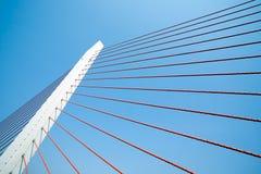 подвес пристани моста Стоковое Фото