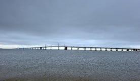 подвес chesapeake моста залива Стоковая Фотография RF
