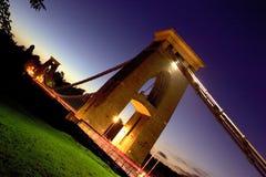 подвес clifton моста стоковое изображение rf