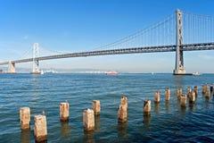 подвес francisco oakland san моста залива Стоковые Изображения RF