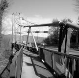 подвес vancouver моста Стоковое Фото