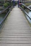 Подвижный Footbridge стоковое изображение