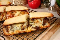 подводная лодка сандвича говядины Стоковая Фотография