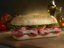 подводная лодка сандвича delli Стоковые Фото