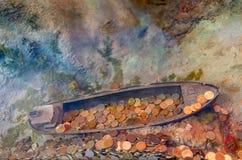Подводная развалина большого искусственного рифа Музей Грандиозн-насмешки город Санкт-Петербурга Стоковое Изображение