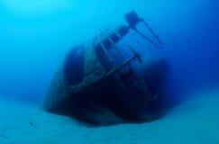 подводная развалина Стоковое Фото