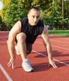 подготавливайте бег к Стоковое Фото