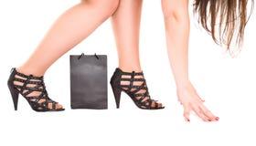 подготавливайте бег ходя по магазинам к Стоковое Фото