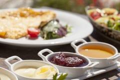 Подготавливайте для еды завтрака Стоковая Фотография RF