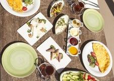 Подготавливайте для еды завтрака Стоковые Фотографии RF