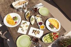 Подготавливайте для еды завтрака Стоковое Изображение RF