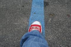 подготавливайте старт к перемещать Стоковая Фотография RF