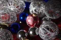 Подготавливать украшения рождества Стоковое Изображение RF