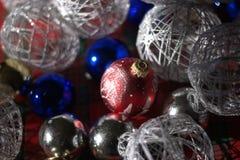 Подготавливать украшения рождества Стоковые Фотографии RF
