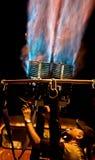 подготовка воздушного шара горячая Стоковое Изображение