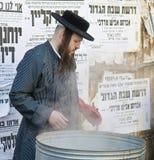 подготовка еврейской пасхи Стоковые Изображения