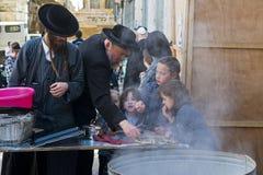 подготовка еврейской пасхи Стоковое Фото