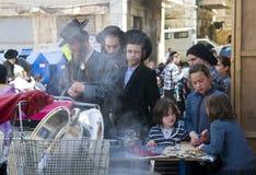 подготовка еврейской пасхи Стоковая Фотография RF