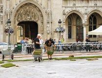 Подготовка ковра 2012 цветка Стоковое Изображение