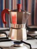 Подготовка кофе Стоковые Фотографии RF