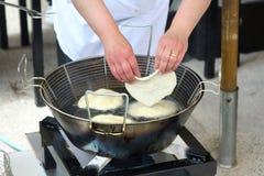 Подготовка пиццы стоковое фото