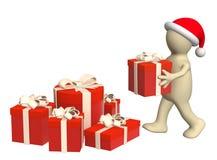 подготовка рождества бесплатная иллюстрация