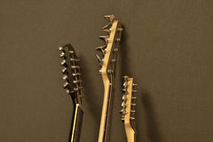подготовляет гитару Стоковое фото RF
