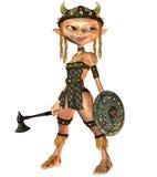 подготовляет девушок viking Стоковые Фото