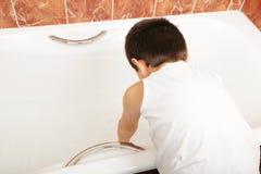 подготовлять ванны Стоковая Фотография