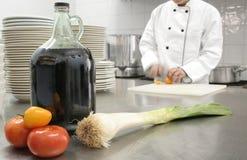 подготовлять еды Стоковая Фотография