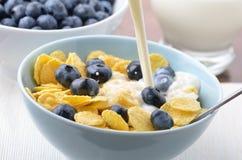 подготовлять завтрака здоровый Стоковая Фотография