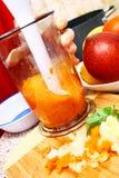 подготовлять мати еды диверсификации младенца стоковые изображения rf