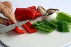 подготовлять овощи Стоковое Изображение RF
