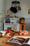 подготовлять цыпленка масла Стоковое фото RF