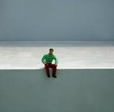 поддельная миниатюрная пластмасса людей Стоковое Изображение RF