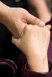 поддерживать руки Стоковое фото RF