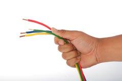 поддерживающая цепь руки стоковая фотография rf