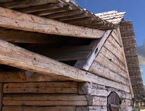 поддержка деревянная Стоковые Изображения RF