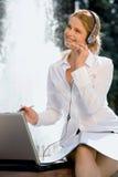 поддержка обслуживания клиента Стоковое Фото