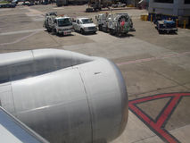 поддержка самолета Стоковая Фотография RF