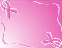 поддержка тесемки предпосылки розовая Стоковое фото RF