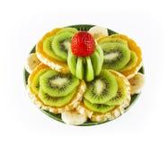 поддонник плодоовощ зеленый Стоковые Фотографии RF