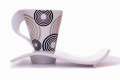 поддонник чашки стильный Стоковое Фото