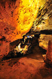 подземелиь утесы зиги внутренности глубоко luray Стоковое Фото