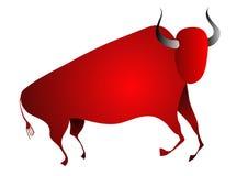 подземелье быка как красить взглядов иллюстрация вектора